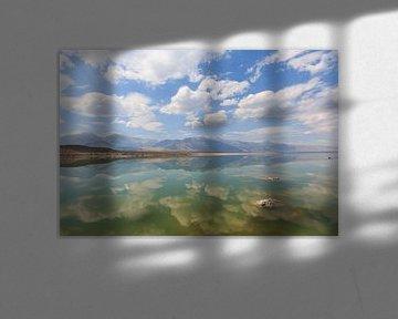 Sich spiegelnde Traumwolken von Gerben Tiemens