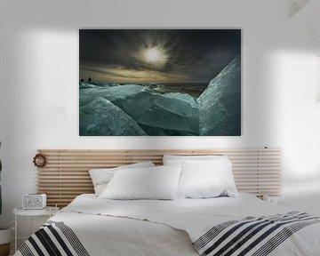 Kruiend ijs 2 von Harrie Muis