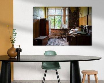 Kamer in Verlaten School.