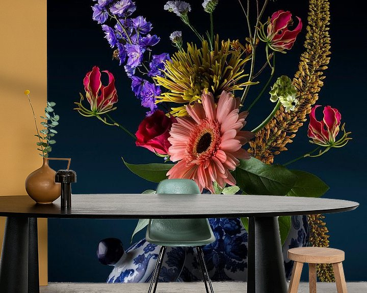 Beispiel fototapete: Royal Flora von Sander Van Laar