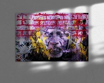 Face in the wall van PictureWork - Digital artist