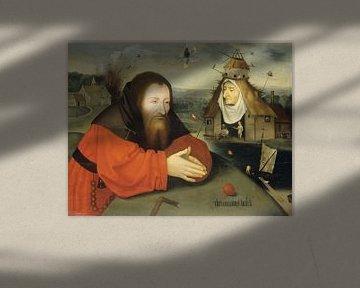 Die Versuchung des hl. Antonius, Nachfolge Hieronymus Bosch