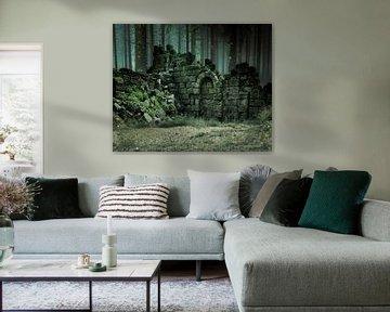 ruin-forest-green van H.m. Soetens