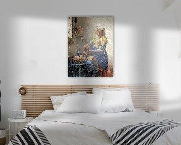 Das Milchmädchen von Vermeer von Lida Bruinen