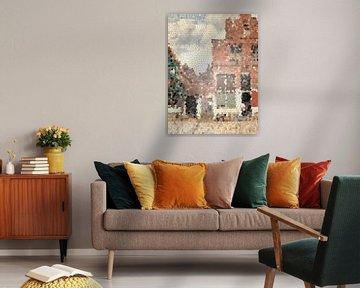 Straatje van Vermeer van Lida Bruinen