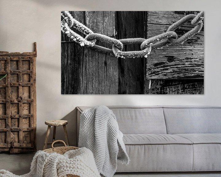 Sfeerimpressie: Bevroren chalmen van AGAMI Photo Agency