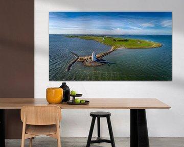 Het eiland Marken en het Paard van Marken van Paul van Baardwijk