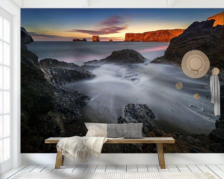 Impression: Dyrholaey Beach sur Wojciech Kruczynski