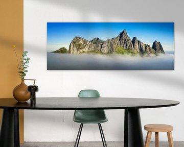 Kongen Panorama van Wojciech Kruczynski