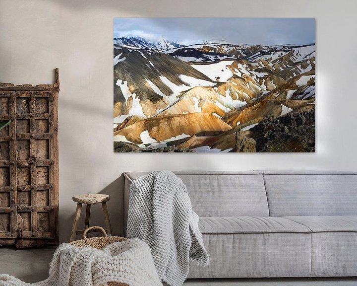 Sfeerimpressie: Landmannalaugar IJsland van Jeroen Kleiberg
