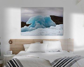 Blauwe IJsberg von Stephan van Krimpen