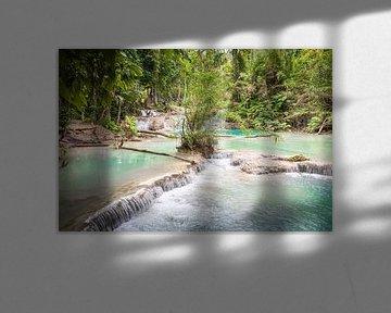 Stromschnellen Kuang Si, Laos von Rietje Bulthuis