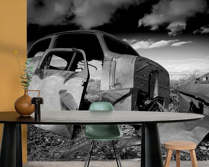 Beispiel fototapete: Abandoned oldtimer 2 von Angelique Faber