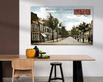 MIDDELHARNIS (Menheerse) Voorstraat The Netherlands von TOEN IN BEELD