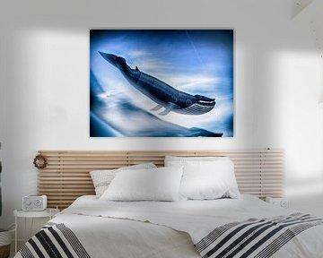 Drachenfestival  Heiligenhafen Wal von Peter Lynn von Dirk Bartschat