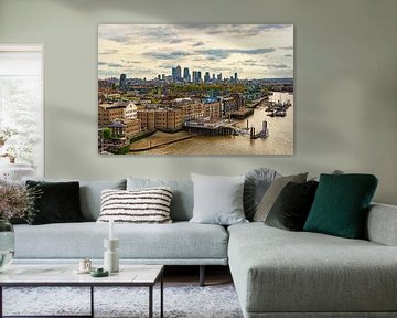 London Stadansichten 02 van Angela Dölling
