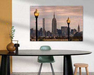 Empire State Building in New York van Kurt Krause
