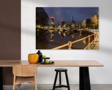 Skyline Leeuwarden Harmonie von Chiel Hoekstra