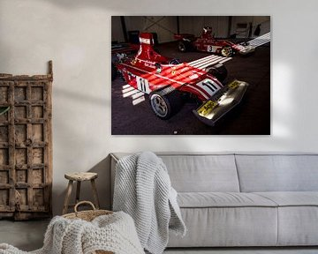 Lauda Ferrari 312B3 von Mattijs Diepraam