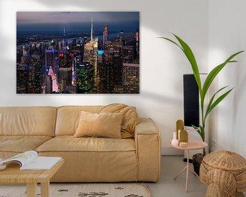 Uitzicht vanuit het Empire State Building van Kurt Krause