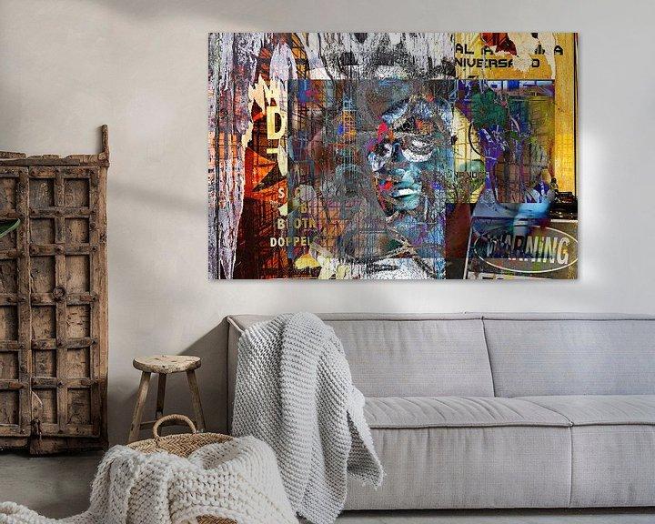 Sfeerimpressie: Chaotic man van PictureWork - Digital artist