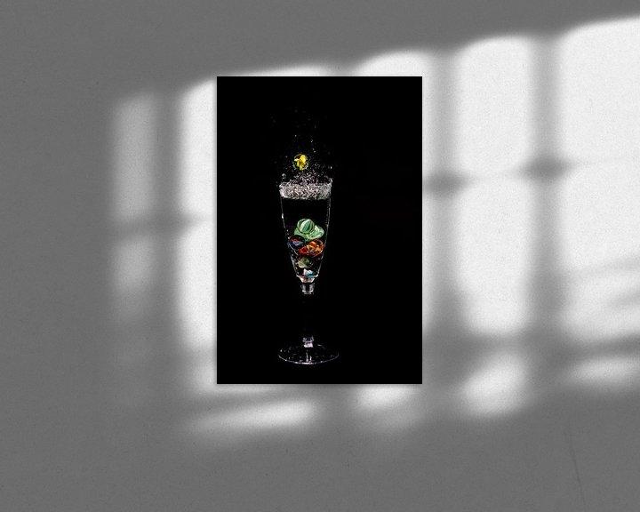 Impression: Knikker in glas _1 sur Henry Nijen Twilhaar