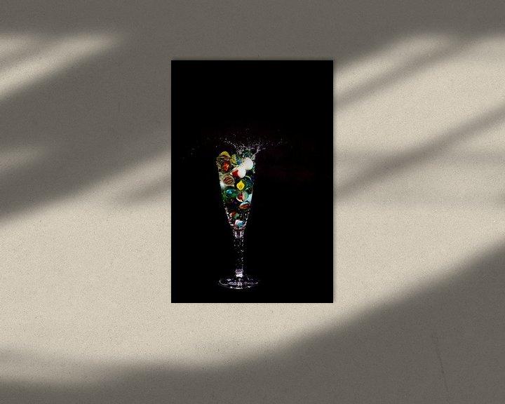 Beispiel: Knikker in glas _6 von Henry Nijen Twilhaar