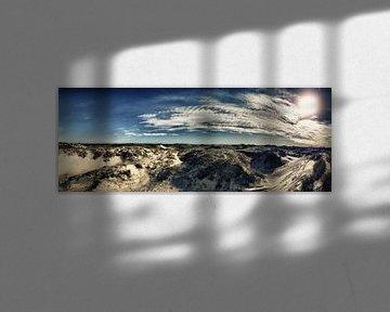 Dänemarkstrand Panorama von Dirk Bartschat
