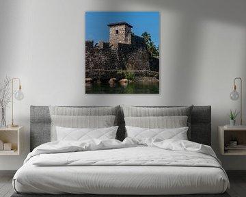 Fronteras: Castillo de San Felipe de Lara van Maarten Verhees