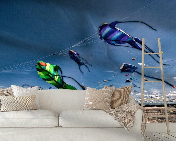 Beispiel fototapete: 7. Drachenfestival SPO von Dirk Bartschat