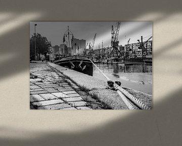 Retro4/ Leuvehaven, Maritiem museum, Rotterdam von Henry van Schijndel