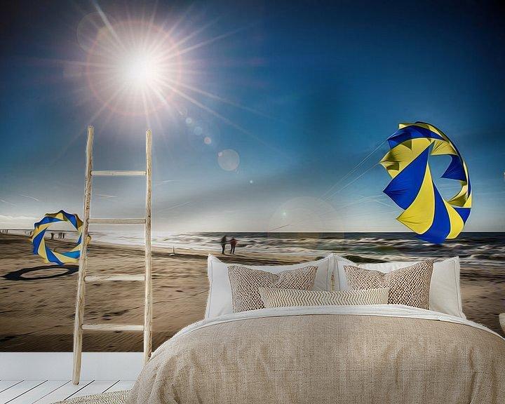 Beispiel fototapete: Dänemark Strand mit Bol von Dirk Bartschat