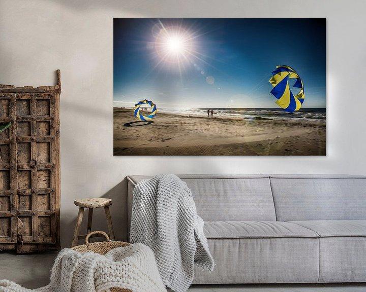 Beispiel: Dänemark Strand mit Bol von Dirk Bartschat