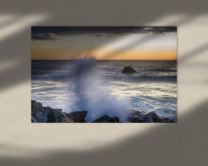 Sfeerimpressie: Spetterende zonsondergang van Mark Bolijn