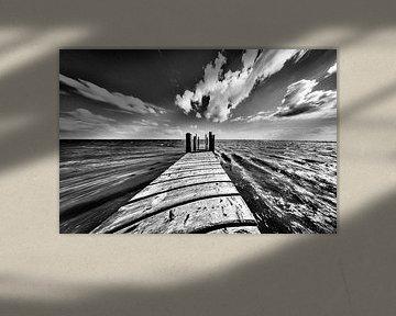 De ode dyk in volle snelheid van Foto van Anno