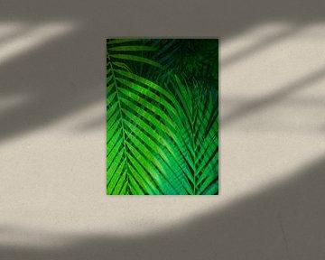 TROPICAL GREENERY POPPY LEAVES 1 von Pia Schneider