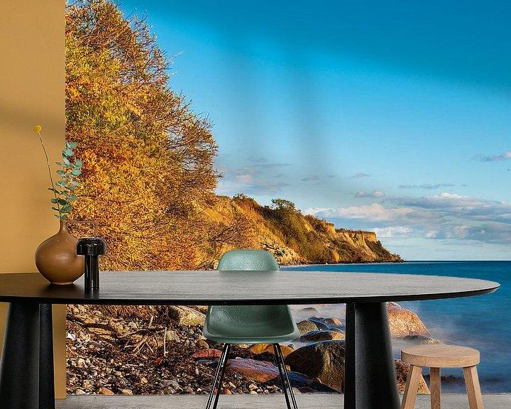 Impression: Ostseeküste bei Klintholm Havn in Dänemark sur Rico Ködder