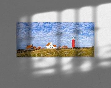 Panorama Paysage dunaire Texel / Paysage dunaire Texel / Paysage dunaire Texel