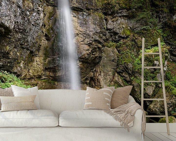 Beispiel fototapete: Sibli-Wasserfall in Bayern von Michael Valjak