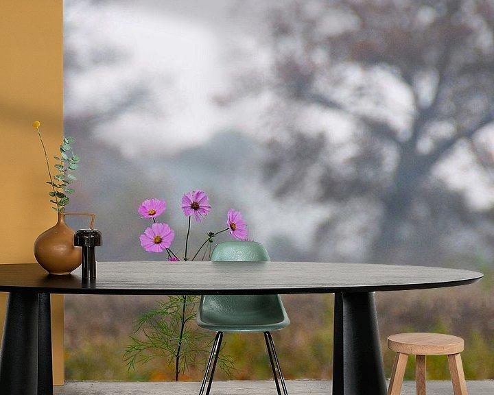 Beispiel fototapete: Herbstliche Landschaft von Marijke Keijser
