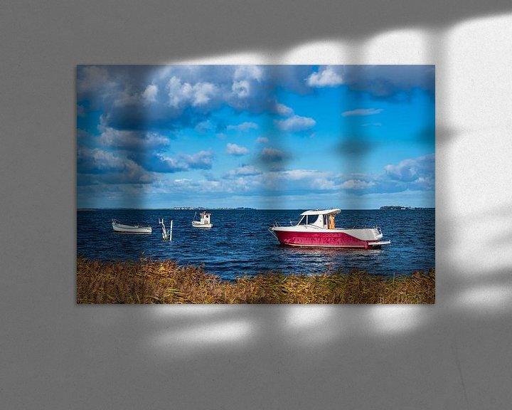 Impression: Boote auf der Ostsee in Dänemark sur Rico Ködder