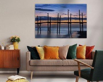 Zonsopgang op Texel van Pieter van Dieren (pidi.photo)