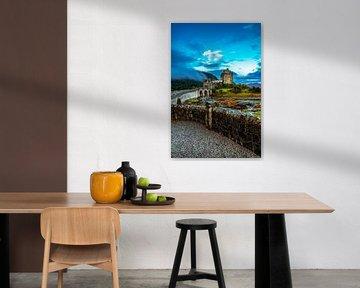 Die Brücke von Castle Eilean Donan von Lars van de Goor
