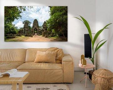 Angkor Cambodia von Rick Van der Poorten