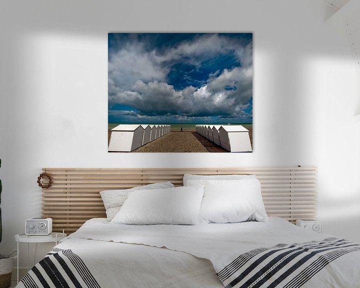 Sfeerimpressie: Strandhuisjes van Harrie Muis