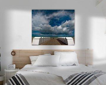 Strandhuisjes von Harrie Muis