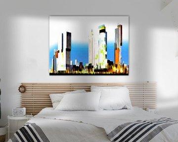 17. Stadtkunst, Abstrakt, Rotterdam - A. von Alies werk