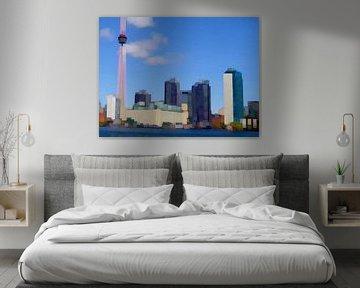 15. City-art, Abstract, Toronto - A.