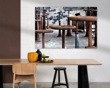 Serie 'Steam' 5 /7 van Rick Van der Poorten