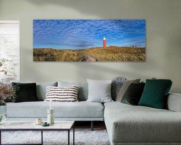 Panorama Texeler Dünenlandschaft / Texeler Dünenlandschaft von Justin Sinner Pictures ( Fotograaf op Texel)